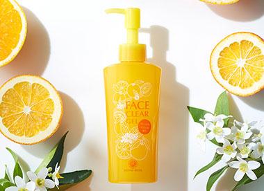 フェイスクリアジェル オレンジ&ネロリ